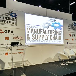 Manufacturing Stage at Manufacturing Expo 2018